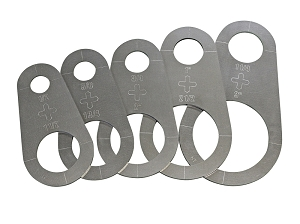 Circle Stencils - Plasma Cutter Guide - 5pc.