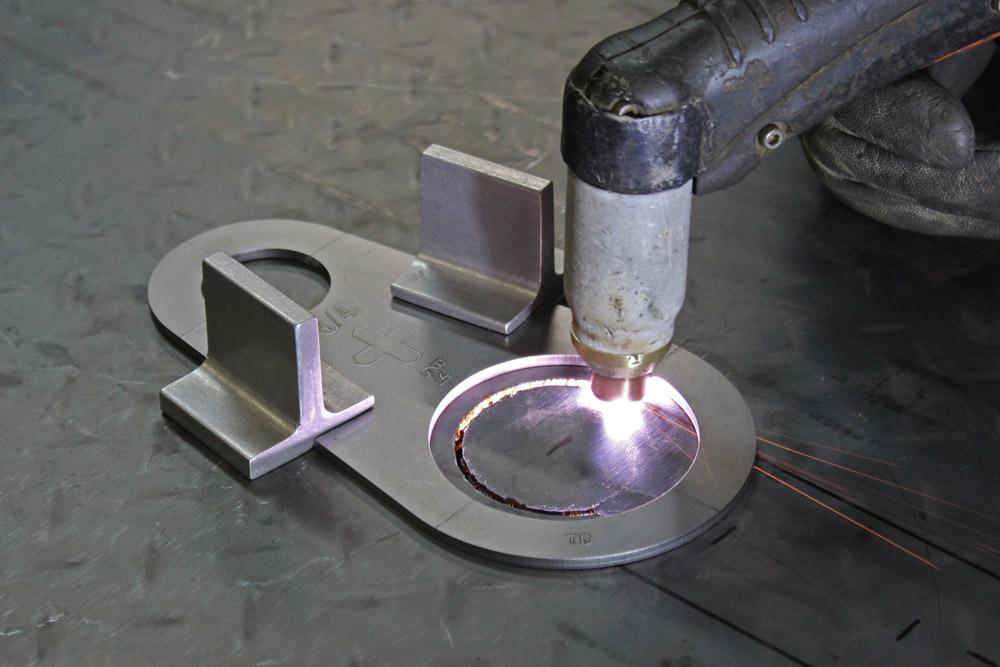 plasma mag holder 2 pc magnetic for plasma stencils and straight edge