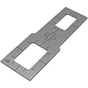 Rocker Switch Stencil - Plasma Cutter Guide