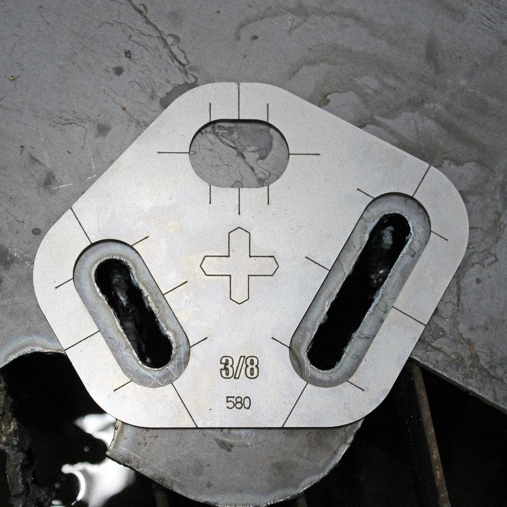 plasma stencil circle cutter kit 5 pc