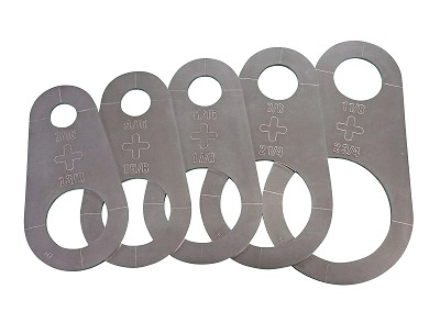 Circle PRO Stencils - Plasma Cutter Guide - 5pc.